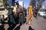 Luptatori talibani in Herat, Afganistan