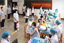 Vaccinare contra covid in provincia Hunan din China