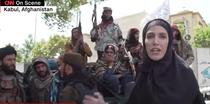 Jurnalista CNN de vorba cu talibanii