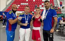 Alexandru Narcis Magdalin la campionatul european de box cadeti de la Sarajevo