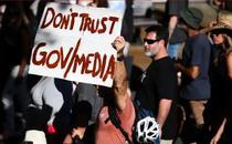 Proteste in Australia- captura de ecran