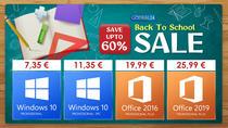 Godeal24 Vânzare înapoi la școală - Cel mai ieftin birou sub 20 € și Windows 10 pentru 7,35 €