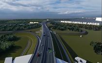 Autostrada Pitesti - Curtea de Arges - modelarea 3D a traseului