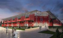 Proiectie a viitorului stadion Dinamo