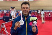 Eduard Novak si medalia de argint de la Jocurile Paralimpice