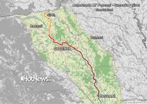 Traseul final pentru autostrada A7 Pascani - Suceava - Siret