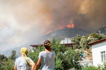 Incendii de amploare in sudul Turciei