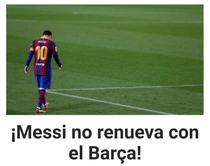 Lionel Messi se va desparti de FC Barcelona