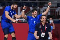 Franta, medalie de aur la handbal masculin
