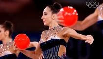 Echipa Bulgaria la gimnastica ritmica campioana la JO 2020