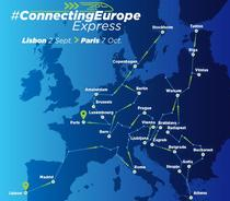 Traseul Connecting Europe Express