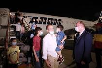 Refugiati afgani ajunsi la București