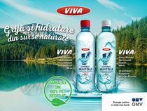 OMV extinde gama de produse VIVA cu Apa Minerală Naturală VIVA Izvorul Muntelui