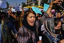 Protest femei in Kabul