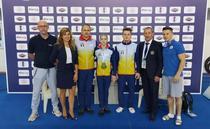 Maria Ceplinschi si Gabriel Burtanete, medalii la CM de gimnastică de la Mersin