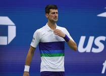 Novak Djkovic, in lacrimi pe teren