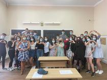 Carmen Iohannis cu elevii 1
