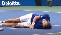 Daniil Medvedev si celebrarea castigarii US Open