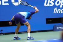 Novak Djokovic si racheta rupta in finala US Open