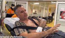 Tiberiu Bosutar, dus la spitalul Judetean