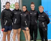 Echipa natională feminina la Campionatele Balcanice de Tenis de Masa