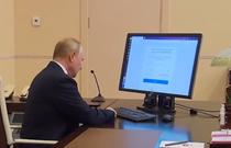 Putin votand online la alegerile parlamentare