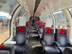 Vagon panoramic elvetian in Connecting Europe Express