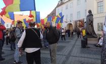 Protest fata de amplasarea statutuii lui Brukenthal la Sibiu