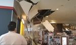 O bucata de tavanul Iulius Mall s-a prabusit