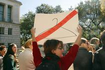 Protest impotriva legii anti-avort din Texas