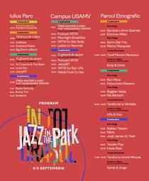 Program Jazz in the Park 2021