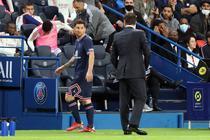 Lionel Messi si Mauricio Pochettino