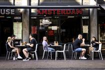 Terasa in Amsterdam