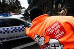 Protest al constructorilor in Melbourne