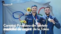 Canotorii Marius Cozmiuc și Ciprian Tudosă, medaliați cu argint la JO de la Tokio