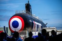 Lansarea unui submarin nuclear francez din clasa Barracuda / Suffren