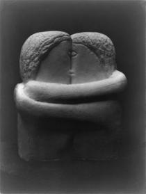 """Celebra sculptură a lui Brâncuși, """"Sărutul"""""""