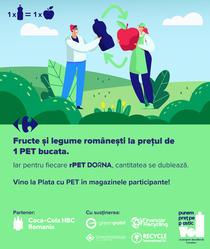 Plata cu PET - Carrefour România