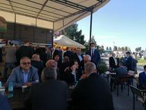 Orban a ajuns primul la Romexpo, la Congresul Romexpo