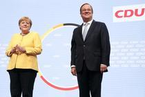 Angela Merkel si Armin Laschet