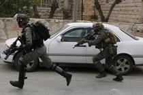 Soldati din unitatea de elita israeliana Duvdevan