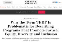 Scientific American despre Star Wars si Jedi