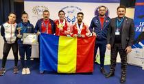 Lotul Romaniei deplasat la Campionatul european de Haltere U23