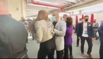 Jurnalista bruscată la Congresul PNL