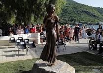 Statuia din Sapri care genereaza controverse