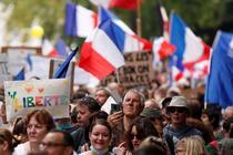 Proteste in Franta (sursa: twitter)