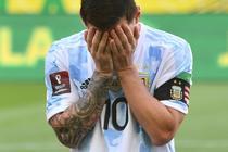 Lionel Messi, in tricoul Argentinei