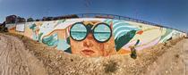 Cea mai mare pictură murală din lume care purifică aerul