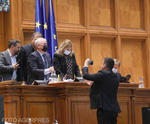 Florin Roman si Anca Dragu, in parlament
