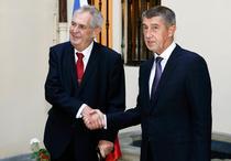 Milos Zeman si Andrej Babis